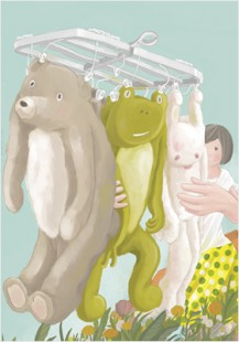 """long nosed elephant does laundry""5"