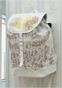 PCP X Tabisuke Tabizo backpack