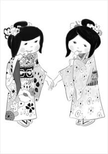 friends like twins (tobira)