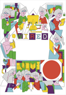 a day in a wired life