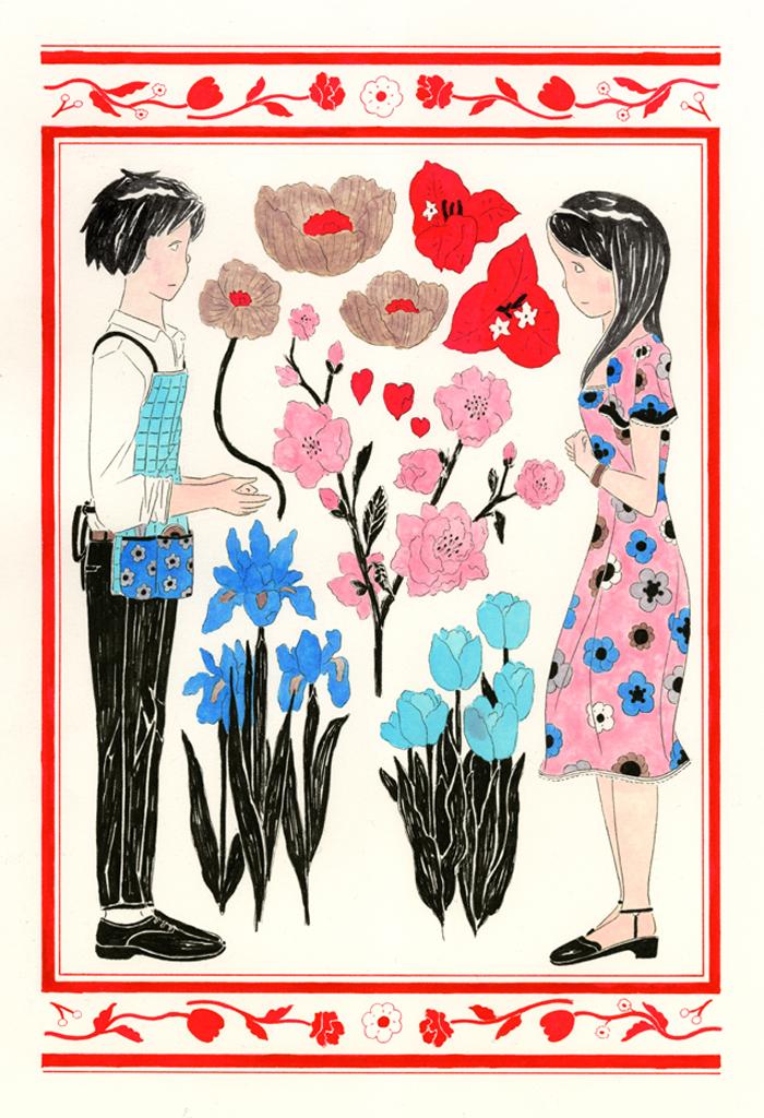ラブレター#5この草木や花の言葉であなたに copy