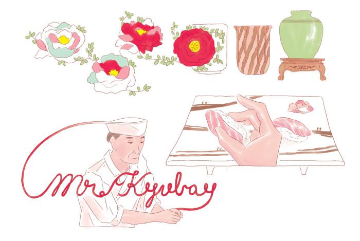 常連客からの招待状-kyubay illustrations