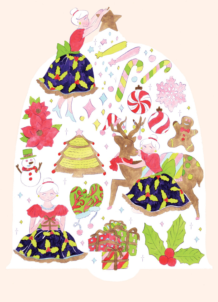 shopin_christmas_illust