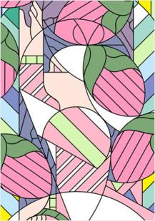 Omotesando stained glass girls2
