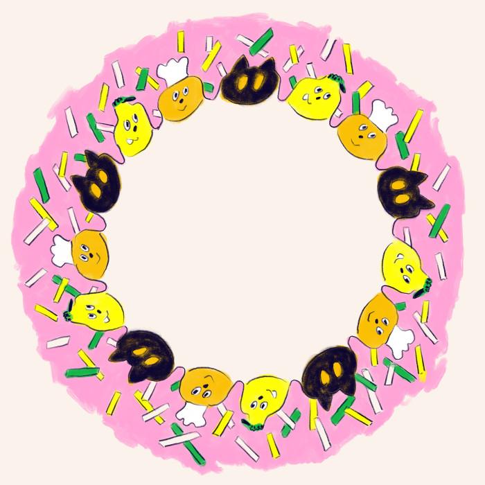 キャラメルゴーストパーティーお皿3done