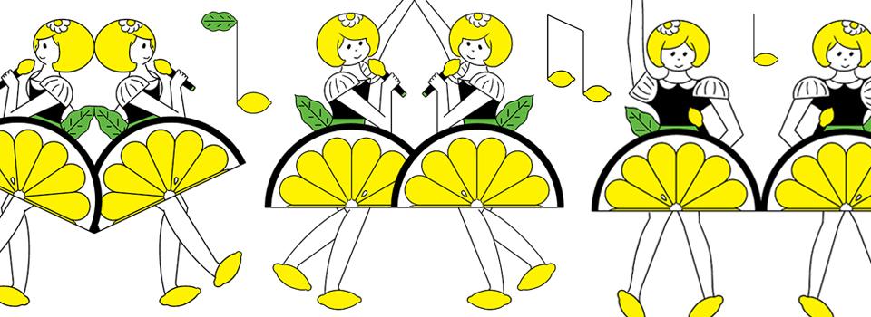 fresh lemon cake girls LIVE! TONITE!