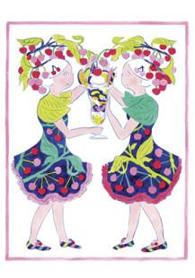 収穫祭#23:さくらんぼと パフェの~