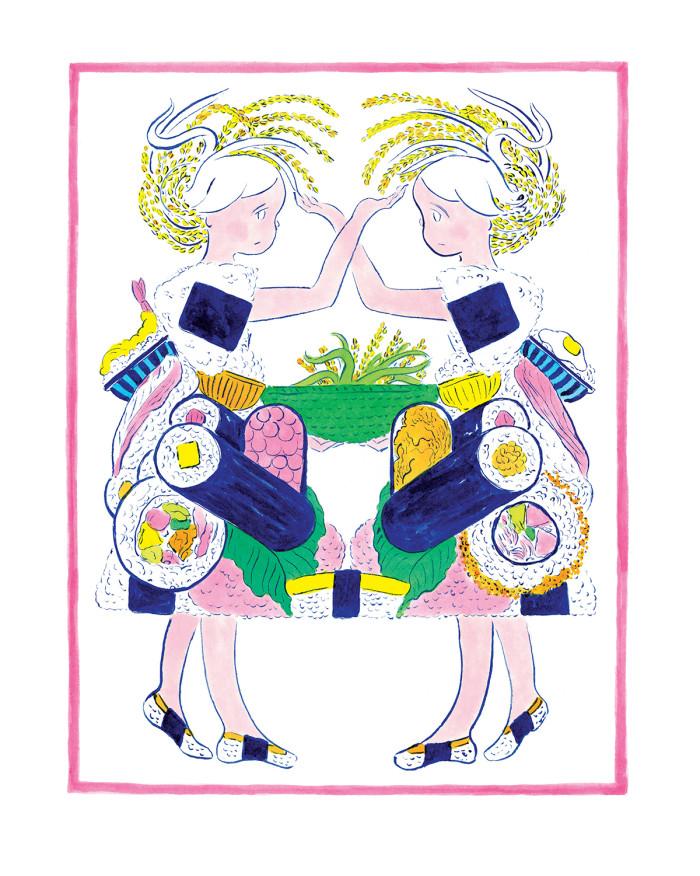 収穫祭#11:こめと ごはんの おんなのこrgb150
