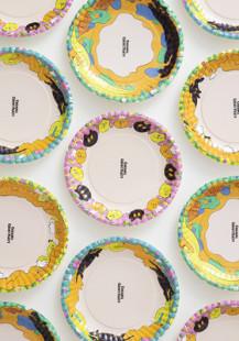 『キャラメルゴーストパーティー』紙皿