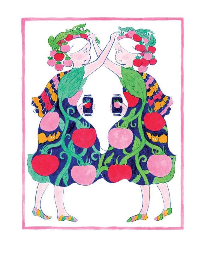 収穫祭#22:トマトと キバの おんなのこrgb150