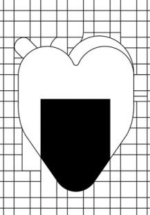 heart shaped onigiri