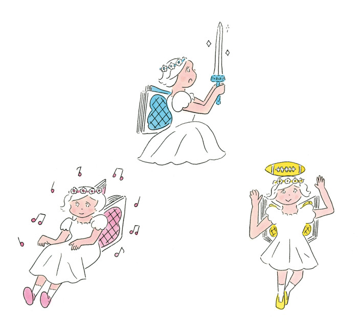 ダ・ヴィンチbook of the year特集挿絵150