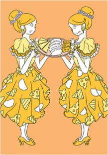 Hokkaido cheese girls 3