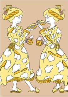 Hokkaido cheese girls 6