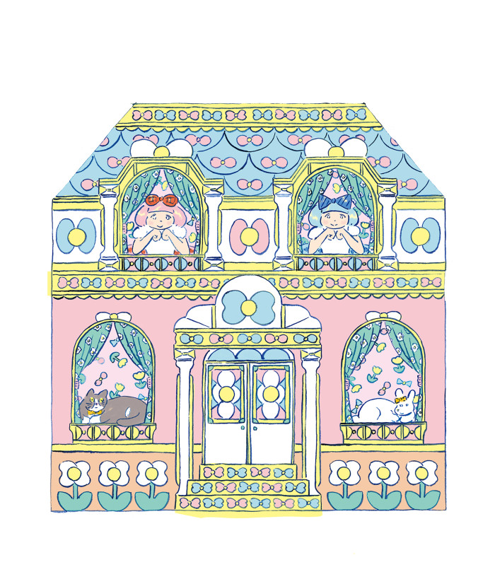 ふたりぼんちゃんハウス1 done200