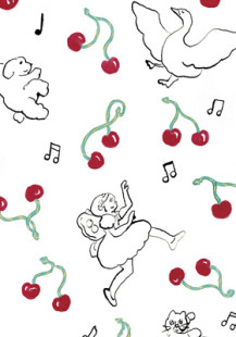 dancing with cherries