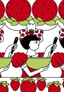 <生>イチゴミルクケーキ